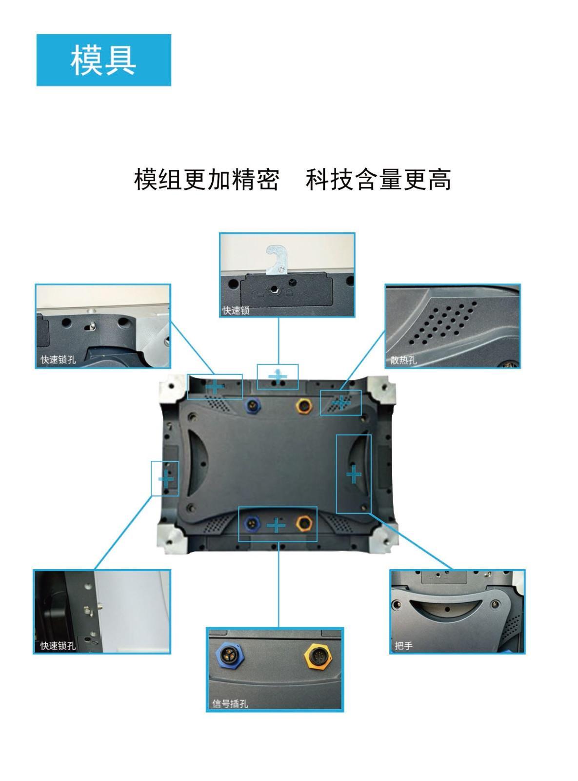 深圳华融室内小间距LED显示大屏